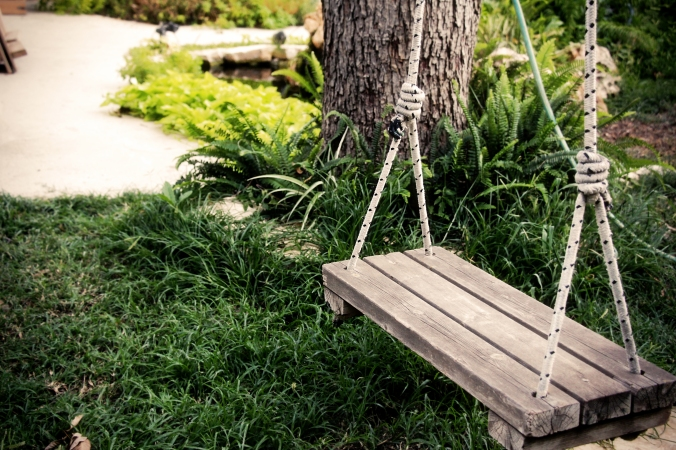 Swing at rest